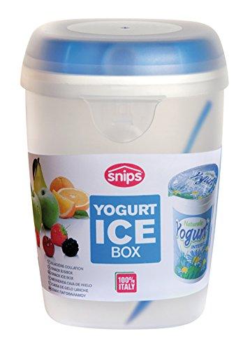 Snips PORTA YOGURT - Contenitore refrigerato con cucchiaino da 0,5 lt