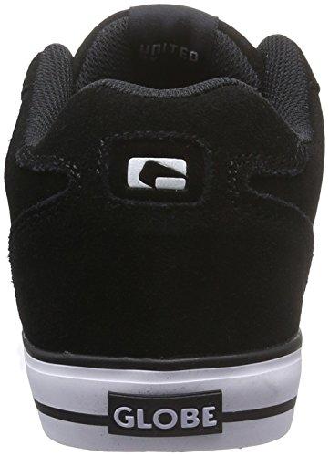 Globe Encore-2, Scarpe da Skateboard Uomo Nero (Black/white 10046)