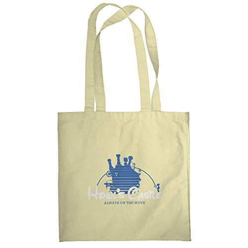 Texlab–Howl S Castle–sacchetto di stoffa Naturale
