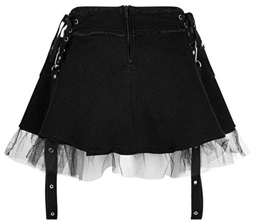 Killstar - Jupe - Uni - Femme Noir