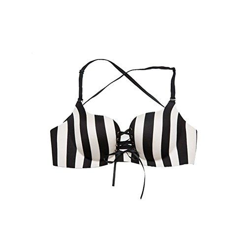 ein Stück nahtlose Unterwäsche/Streifen-freie Felgen Unterwäsche/ put/ die Vereinigten Staaten Rücken Unterwäsche crossing und Zeichnung Bras/[Ziehen Sie sammeln]BBH-A 80A (T-shirt Light Crossing)