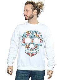 Disney Hombre Coco Skull Pattern Camisa De Entrenamiento