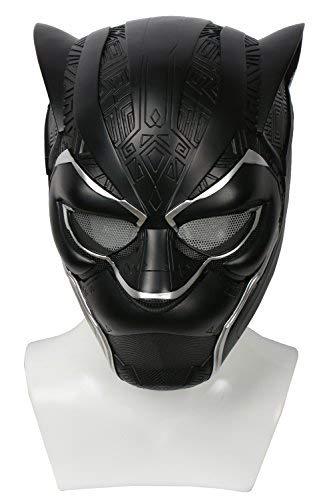 BIRDEU Halloween Maske Deluxe Harz Vollen Kopf Helm Film 2018 Cosplay Kostüm Zubehör für Erwachsene Herren Replica (Silber)