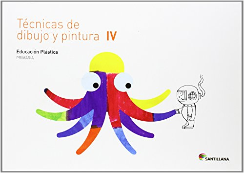 CUADERNO TECNICAS DE DIBUJO Y PINTURA IV 4 PRIMARIA - 9788468017747 por Aa.Vv.