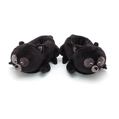 Disney-peluche di bear-pantofole, misura per bambini, taglia: 7-8 anni
