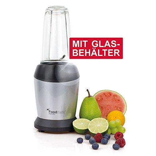 Foodmatic Personal Mixer PM1000 Glas