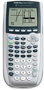 Texas Instruments TI 84 Plus Taschenrechner Silver Edition (in englischer Sprache)