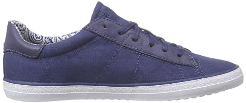Esprit Miana Lace Up, Baskets Basses femme Bleu - Blau (415 ink)