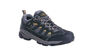 TFO Herren Trekking & Wanderschuhe Wasserabweisende und Atmungsaktive Outdoor Schuhe mit Rutschfester Sohle