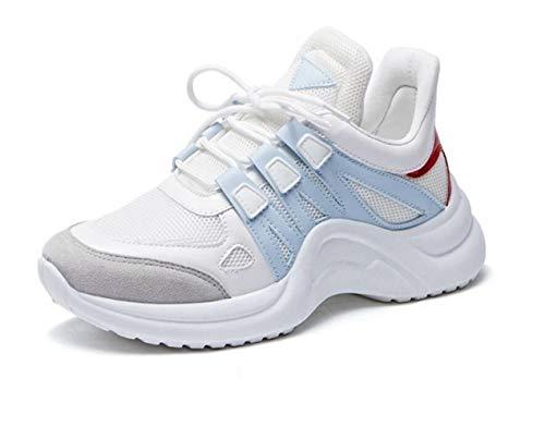 Sneakers da corsa Scarpe da passeggio leggere da donna Scarpe da tennis mesh traspiranti Scarpe infermieristiche da ginnastica Scarpe da passeggio da jogging da donna Sneaker da allenamento traspirant