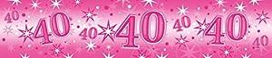 Pioneer Europe- Pancarta de fiesta, Color rosa (45562)