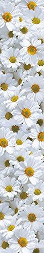 Wall Stripes Vinyl - Daisy Meadow Stripe - Endformat: 47x268 cm – 4-teilig (Daisy Indigo)