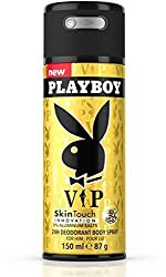 Playboy Vip Deodorant Spray - For Men��(150 Ml)