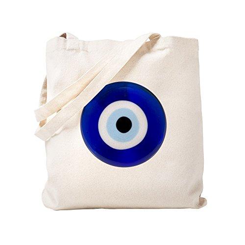 CafePress–Nazar amuleto mal de ojo protección–Gamuza de bolsa de lona bolsa, bolsa de la compra Small caqui