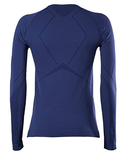 FALKE Damen Warm Longsleeved Shirt Comfort Fit Women Sportunterwäsche dark night