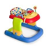 Hauck / Lauflernhilfe 2in1 Walker / ab 6 Monaten / Gehfrei mit Spielcenter und Rollen / höhenverstellbar / Dots (Bunt)
