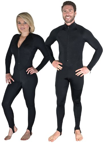 Storm Black Lycra Dive Skin-Small for Scuba Diving, Snorkeling and Water Sports