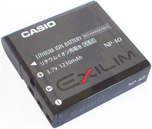 Z100-serie (Casio NP-40 Li-Ion-Akku für EXILIM Z-Serie)