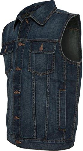 Kutte Jeans (Urban Classics Denim Vest, Farbe:denimblue;Größe:L)