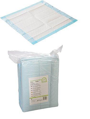 100 Krankenunterlagen Einmalunterlagen Farbe: blau 40 x 60 6 - lagig