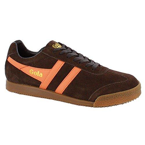 Gola , Baskets mode pour homme Marron - Brown/Orange