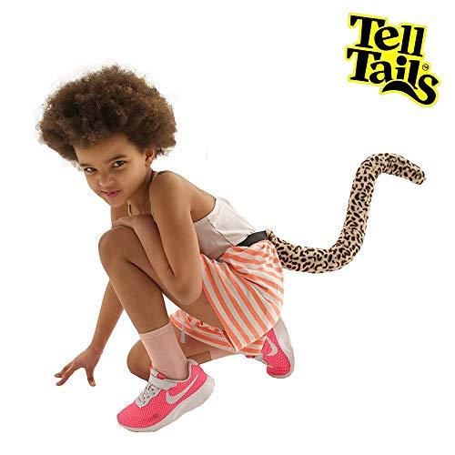 TellTails tt-upkidleop Get Your Wedeln auf. tragbar Leopard Schwanz Kostüm für Kinder, One Size