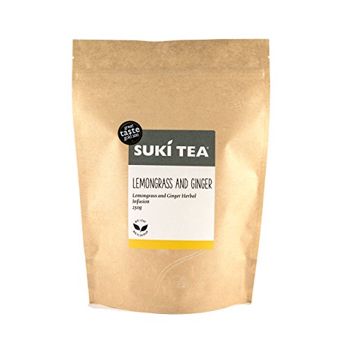 Suki Tea Lemongrass and Ginger Twist Loose Herbal Tea 250 g
