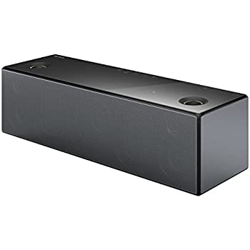 Sony SRSX99 Hi-Res Audio Multiroom Speaker with Wi-Fi and Bluetooth - Black