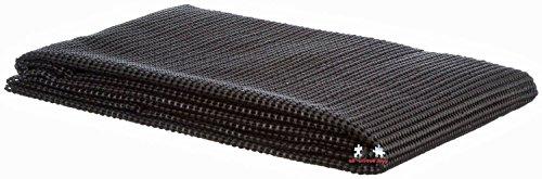 Antirutschmatte zuschneidbar für Auto (KFZ) Kofferraum Kofferraummatte all-around24 Schmutzfangmatte 120x100, Schwarz