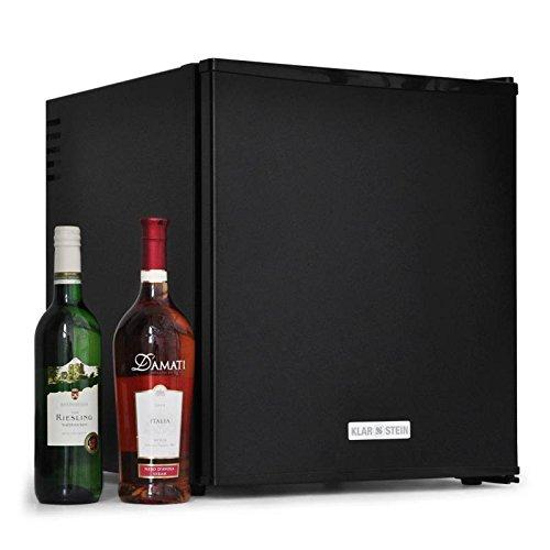 Klarstein HEA-MKS-50 Mini frigo de bar encastrable (pour conservation de bouteilles, capacité de 40L, lumière intégrée, 2 étagères)