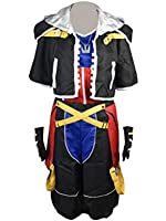 Anime Wig Cosplay Costume Kingdom Hearts II 2 1st Version Sora Costume
