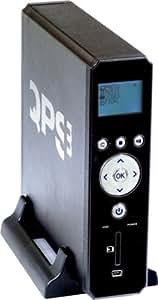 """QPS Disque dur Multimedia DivX USB 2.0 SD Noir 3,5"""" 320 Go"""