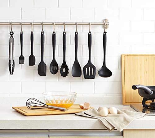 THKJW Utensili Da Cucina In Silicone 10 Imposta, Di Alta Qualità Resistente  Al Calore Antiaderente Facile Da Pulire Cucina Di Cottura Strumenti ...