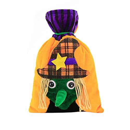 Coconut Coco Halloween-Beutel der Kürbis-Katzen-Hexe-Geschenk-Beutel für Kinder-Kostüm-Party-Bevorzugungen Supplies (Kinder Halloween Katze Kostüme)