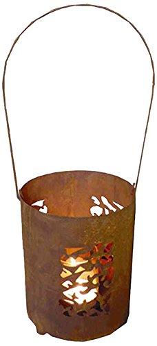 H. G. 0892-8 lanterna Steffi mosaico lamiera