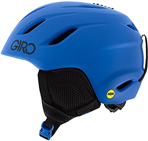 Giro Nine JR MIPS Snow Helmet - Kid's Matte Blue Medium by Giro