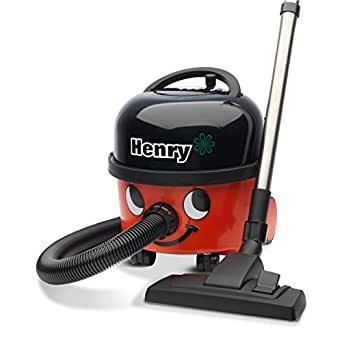 Numatic HVR200A Henry A1 Bagged Cylinder Vacuum Cleaner plus Kit A1, Red/Black