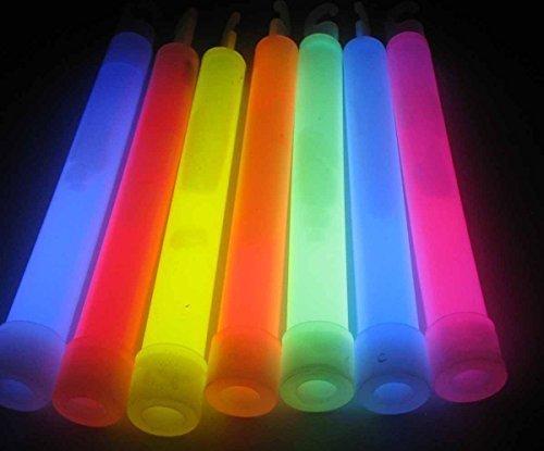50 Stück x Knicklichter, 15 mm * 150 mm - großes Knicklicht - Knicklicht Stäbe Party Knicklichter mit Aufhängband - Knick Licht