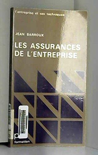 Les Assurances de l'entreprise (PUF formation)