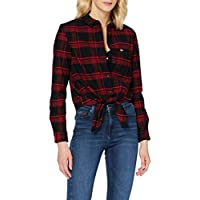 Tommy Jeans Dames Tjw Check Front Knot Shirt Shirt