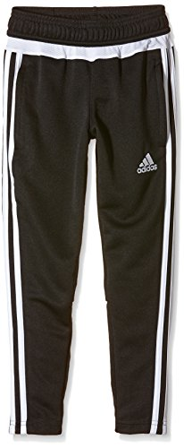 adidas Kinder Sporthose Lang Tiro15 Trainingshose Black/White, 176 (Training Adidas Pants Tiro)