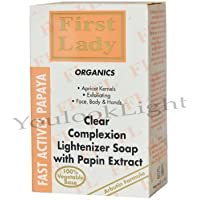 First Lady chiaro Teint schiarimento Papaya sapone