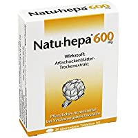 NATU HEPA 600 mg überzogene Tabletten 20 St Überzogene Tabletten preisvergleich bei billige-tabletten.eu