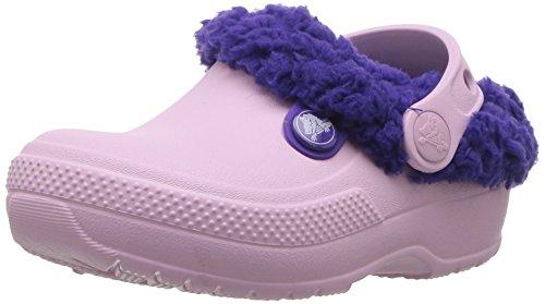 Crocs Classic Blitzen III Clog Kids, Unisex Niños Zueco, Rosa (Ballerina Pink/Ultraviolet), 32-33 EU