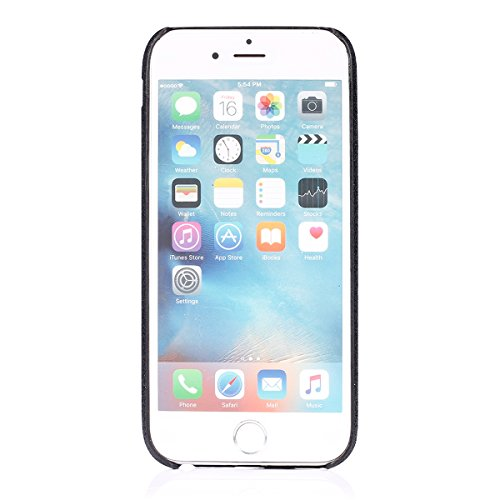 Custodia iPhone 6S plus Cover iPhone 6 plus,Ukayfe Moda UltraSlim Gel TPU Silicone Custodia per iPhone 6S plus, Case Morbida Soft Bling Cristallo Protettiva Custodia Brillantini Resistente ai Graffi A Nero