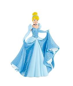 Disney Princesas Figura Cenicienta Nueva 0cm, Multicolor, Miscelanea (Bullyland 12501)