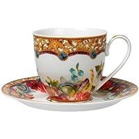 MELLI MELLO TEA CUP & SAUCER FLOWER 150 ML