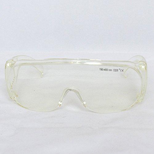 Q-BAIHE q-baihe190-400NM UV Laser Schutz Brillen UV-UV-Schutz UV-Licht Laser Anti-Eyepiece