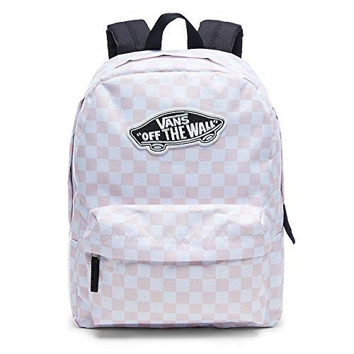Vans Mochila de a diario, Chalk Pink Checkerboard (Rosa) - V00NZ0P2A