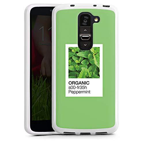 ülle kompatibel mit LG G2 Mini Case Schutzhülle Mint Pfefferminz Farbe ()